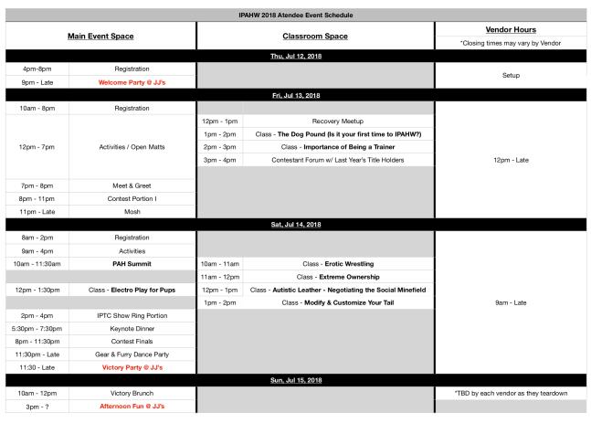 IPAHW 2018 Final Schedule copy 2